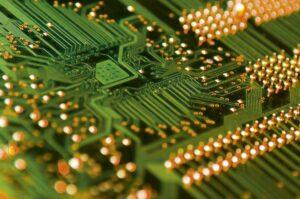 stiklo audinys elektros mikroschemose